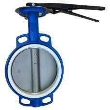 Затвор Баттерфляй Ду 200 диск - нж  уплот. - PTFE Китай