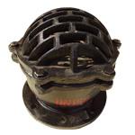 Клапаны обратные 16ч42р приемные фланцевые чугунные с фильтром Китай