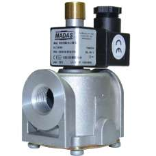 Электромагнитный клапан MADAS M16/RMC N.A. муфтовый Ду15 Н.О. 500 mbar
