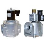 Клапан электромагнитный газовый муфтовый нормально открытый