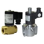Клапан электромагнитный газовый муфтовый нормально закрытый