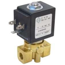 """Электромагнитный клапан ODE 21A3ZB... муфтовый Ду6  G1/8"""" Н.О"""