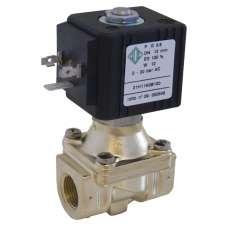 Электромагнитный клапан ODE 21H12KOB120 муфтовый Ду15 Н.З