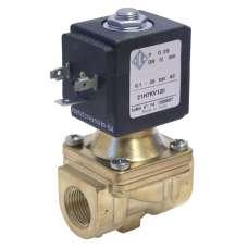 """Электромагнитный клапан ODE 21H7KB120 муфтовый Ду10  G3/8"""" Н.З"""