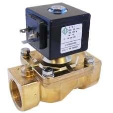 Электромагнитный клапан ODE 21HT4KOY160 муфтовый Ду15 Н.З