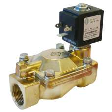 """Электромагнитный клапан ODE 21W3ZB190 муфтовый Ду20  G3/4"""" Н.О"""