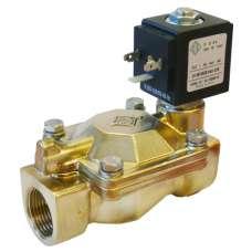 """Электромагнитный клапан ODE 21W4KB250 муфтовый Ду25  G 1"""" Н.З"""