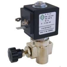 """Электромагнитный клапан ODE 21A16KT25-XV муфтовый Ду8  G1/4"""" Н.З"""