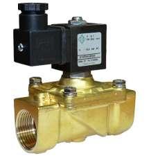 Электромагнитный клапан ODE 21HF6KOB250 муфтовый Ду25 Н.З