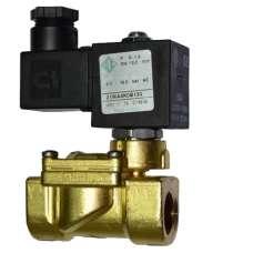 """Электромагнитный клапан ODE 21WA4KOB130 муфтовый Ду15  G1/2"""" Н.З"""