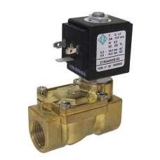 """Электромагнитный клапан ODE 21WA4ZOB130 муфтовый Ду15  G1/2"""" Н.О"""