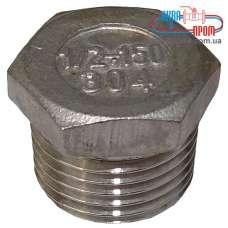 Заглушка Ду 10 наружная резьба из нержавеющей стали