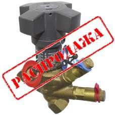 Клапан балансировочный с дренажем Oventrop Ду 15