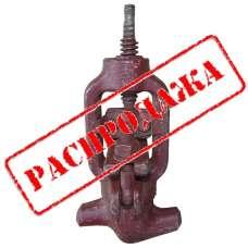Вентиль запорный ст. 588-10-0 Ру373 макс. температура 280 С