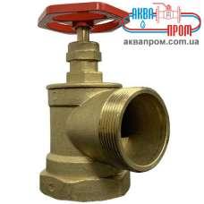 Кран (вентиль) пожарный угловой 90 градусов ПК 25 Ду 25 ВН